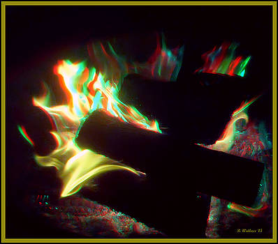 Fire Pit - Use Red-Cyan 3D glasses by Brian Wallace