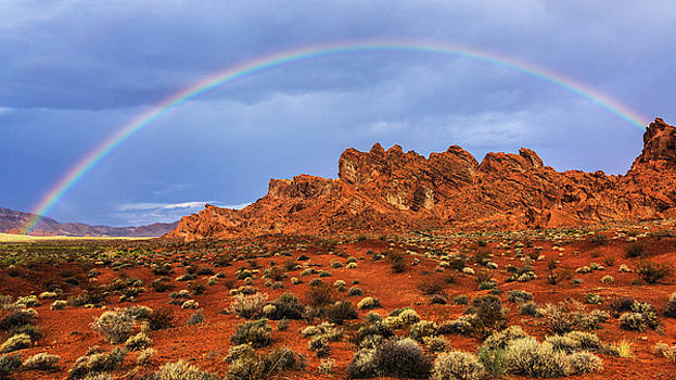 Fire Rainbow by James Marvin Phelps