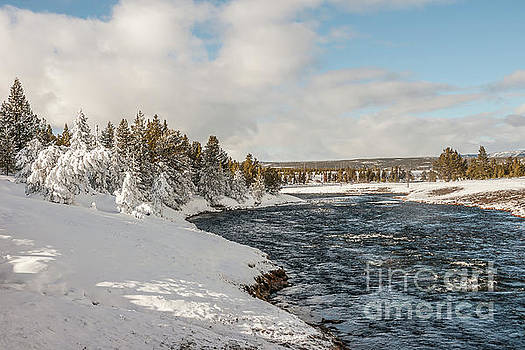 Firehole River on a Winter Day by Sue Smith