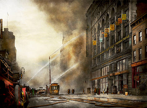 Mike Savad - Fireman - Brooklyn NY - Surprise 1909