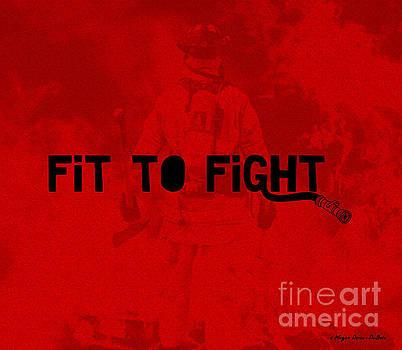 Fireman in Red by Megan Dirsa-DuBois