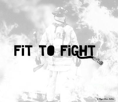 Fireman in White by Megan Dirsa-DuBois