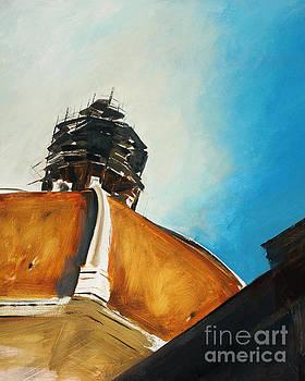 Firenze, Duomo Scaffolding by Alyson Kinkade