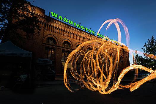 FireSpinner Spokane WA by Steve Gadomski