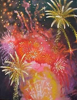 Fireworks Celebration by Bobbi Baltzer-Jacobo