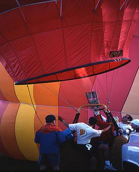 Firing Hot-Air Balloon by Gene Garrison