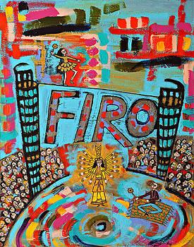Firo The Dancer by Maggis Art