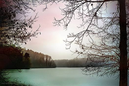 First Blush, Lake Waterscape by Melissa Bittinger
