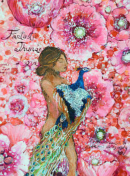 First Chakra Angel Fantastic Thunder of Life by Ashleigh Dyan Bayer