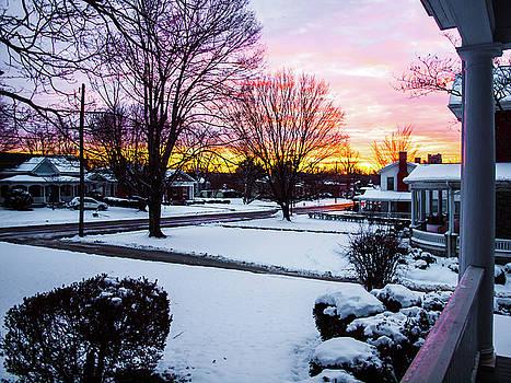 First Snow by Randy Sylvia