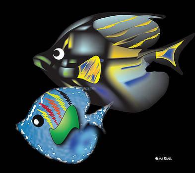 Fish Illustration by Hema Rana