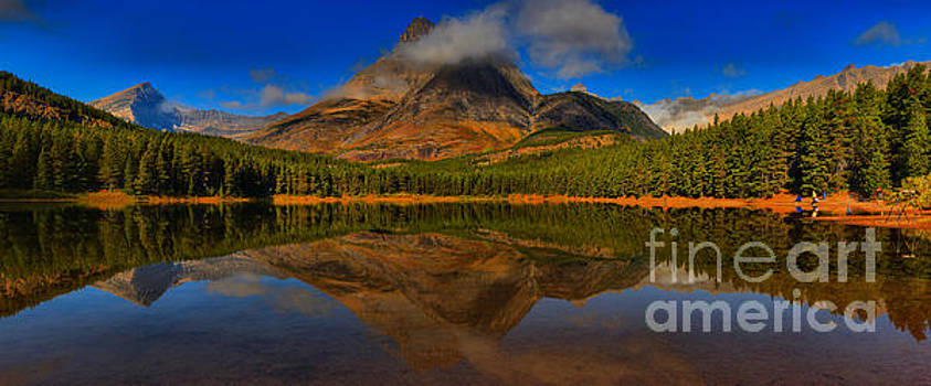 Adam Jewell - Fishercap Reflections Medium Panorama