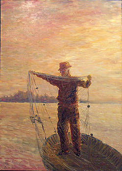 Fisherman by Alexander Bukhanov