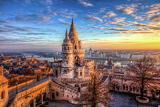 Fisherman's Bastion in Budapest by Shawn Everhart