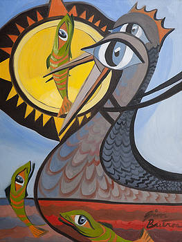Fishermans Fish Catching Birds by Jimmy Butros