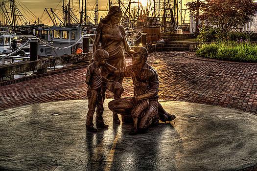 Fishermen's Tribute Memorial by John Hoey
