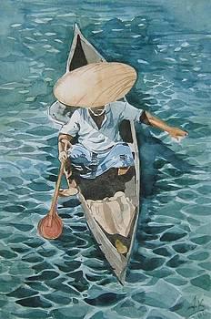 Fishing by Akhilkrishna Jayanth