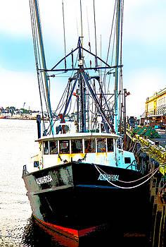 Michelle Wiarda - Fishing Boat Boston Harbor