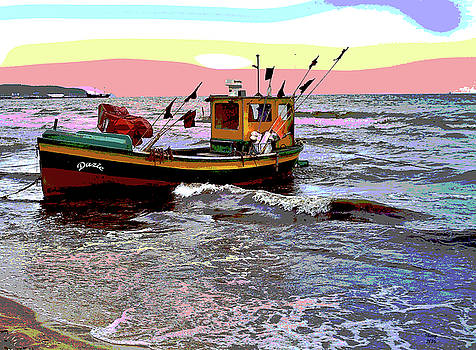 Fishing Boat by Charles Shoup