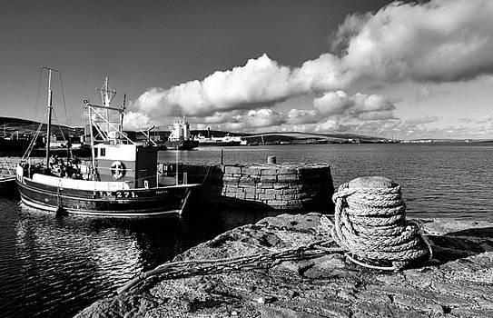 Fishing Boat Lerwick Shetland by Lynn Bolt