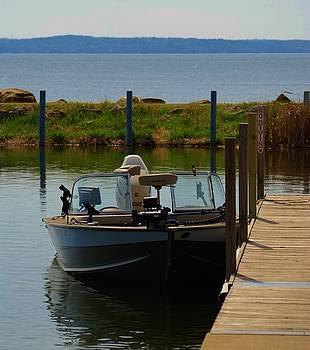 Fishing Boat by Ramona Whiteaker