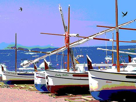 Fishing Boats by Charles Shoup