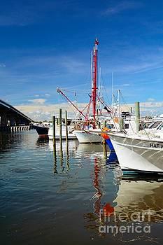 Fishing Boats by Debbie Green