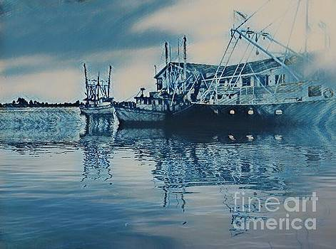 FIshing Boats by Janice Spivey