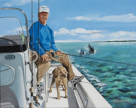 Fishing Buddies by Bill Dunkley