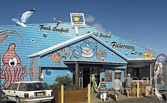 Fishing Co-op.Coffs Harbour Marina.Australia by Geoff Childs