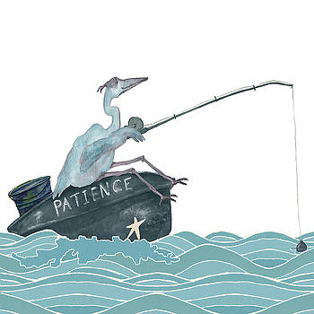 Fishing by Debi Hubbs