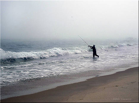 Fishing in the Fog by Mikki Cucuzzo