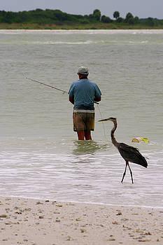 Fishing Mentor by Paul Wash