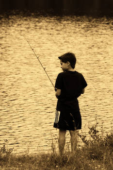 Cathy  Beharriell - Fishing Patience