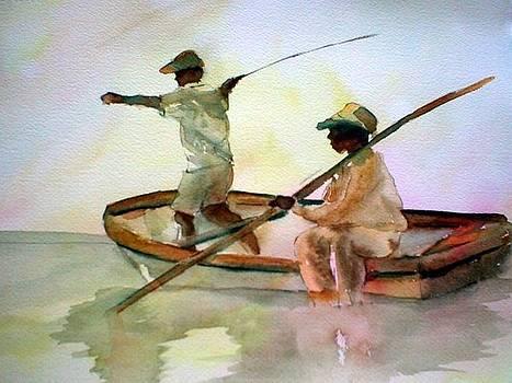 Fishing by Rhonda Hancock