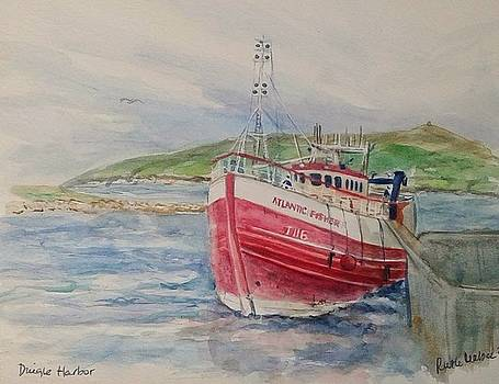Fishing Trawler by Ruth Mabee