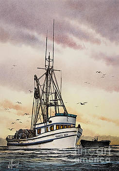 Fishing Vessel Yankee Boy by James Williamson