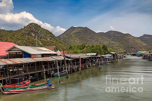 Adrian Evans - Fishing Village