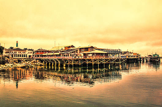 Fishing Village by Leesa Toliver