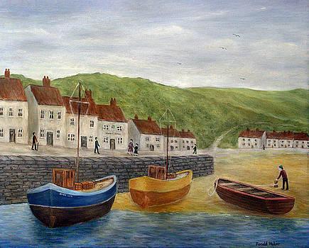Fishing Village Uk by Ronald Haber