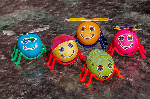 Five Easter Egg Bugs by Sue Smith