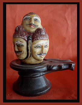 Five Face Siva by Yogshh Agrawal