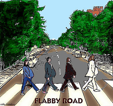 Flabby Road by Colin Dukelow