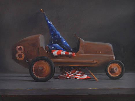 Flag Car 8 Study  by Rich Alexander