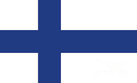 Flag of Finland by Bruce Stanfield