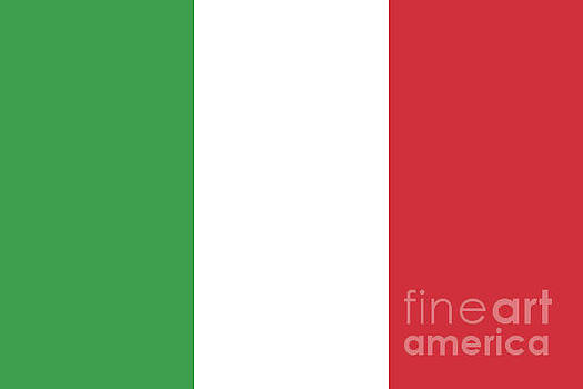 Flag of Italy by Bruce Stanfield