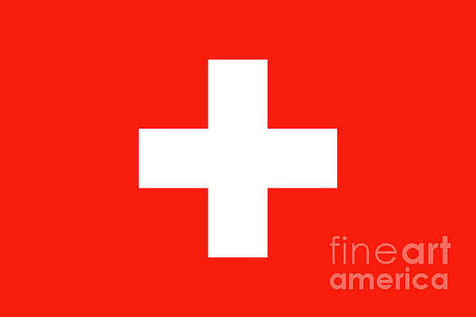 Flag of Switzerland by Bruce Stanfield