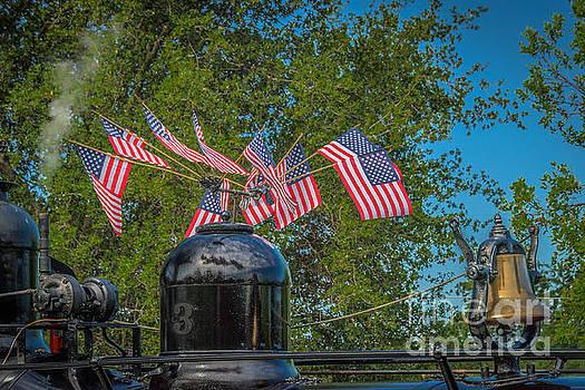 Flags Flying three by Daniel Ryan