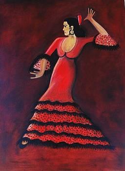 Flamenco Dancer by Janine Antulov