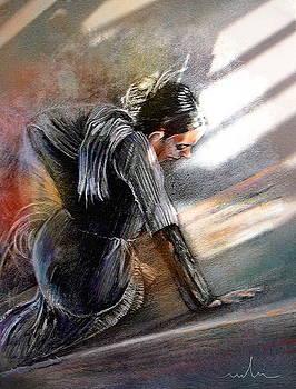Miki De Goodaboom - Flamenco Dancer on The Ground